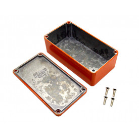 Caixa de Aluminio Laranja 1590B2OR - Hammond