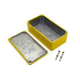 Caixa de Aluminio Amarela 1590B2YL - Hammond
