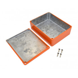Caixa de Aluminio Laranja 1590BB2OR - Hammond