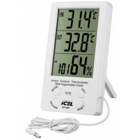 Termo-Higrômetro Digital HT-220 Com Sensor - Icel