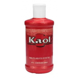 Kaol para polimento de metais 200ml - Kaol