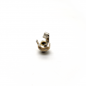 """Jack J10 Mono Importado 1/4"""" com rosca curta circuito fechado 12A"""