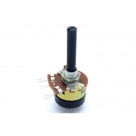 "Potenciômetro 23mm Log ""B"" eixo plástico com chave - Constanta"