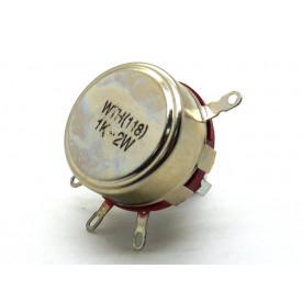 Potenciômetro 23mm 2 Watt 47K eixo metálico sem chave - WTH (118)