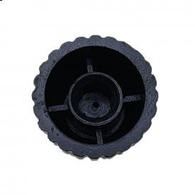 Knob para Eixo estriado padrão Marshall - Prateado - KN-21