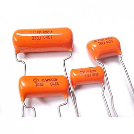Capacitor Polipropileno Orange Drops Série 715P 1KPF/600V (102)