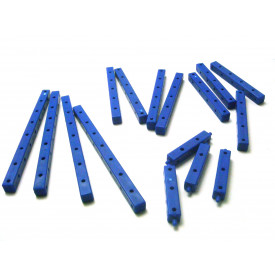 Kit Vigas 3D Termoplástico Azul 021  - Modelix