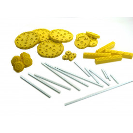 Kit Engrenagens 3 (inclui rosca sem fim)  025B - Modelix