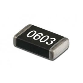 Resistor SMD 0603 de 1/10 de Watt com 5% de tolerância - 1R Ω à 4M7 Ω