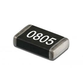 Resistor SMD 0805 de 1/10 de Watt com 5% de tolerância - 0R Ω à 10M Ω