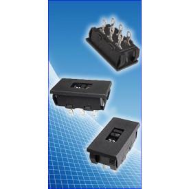 Chave HH com  encaixe rápido 127/220 10A - EX-1032  - Exatronic
