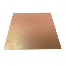 Placa de Fibra de Vidro Face Simples 30x30 cm