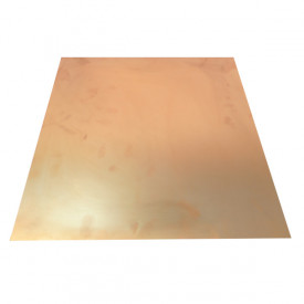 Placa de Fibra de Vidro Face Simples 20x20 cm