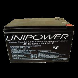 Bateria Chumbo-Ácida Regulada por Válvula (VRLA) UP12120 (12V 12Ah)