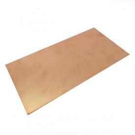 Placa de Fibra de Vidro Face Simples 10x20 cm