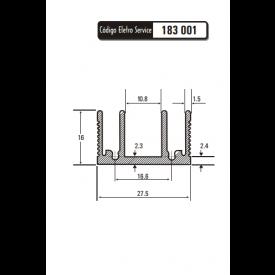 Dissipador de Calor 183001/60 - Eletro Service