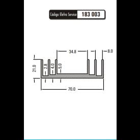 Dissipador de Calor 183003/37.A - Eletro Service