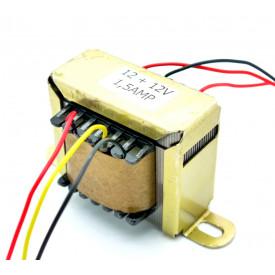 Transformador de Tensão 127/220V para 12V+12V 1.5A
