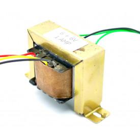 Transformador de Tensão 127/220V para 6V+6V 1A