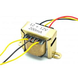 Transformador de Tensão 127/220V para 12V+12V 200mA