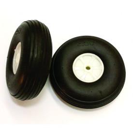 Roda de Borracha 250B - LHP-0938 Embalagem com 2 Peças