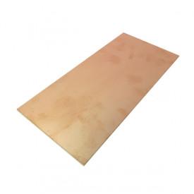 Placa de Fibra de Vidro Dupla Face 10x20 cm
