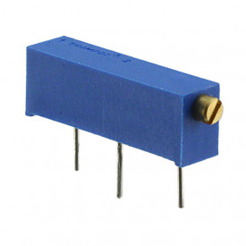 Trimpot Horizontal 15 voltas 3006P 100R Ω