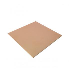 Placa de Fibra de Vidro Dupla Face 10x10 cm