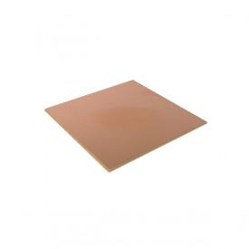 Placa de Fenolite Face Simples 5x5 cm