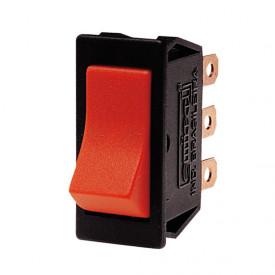 Interruptor de Tecla Unipolar ITB07 Momentânea 10A Vermelha - Emicol