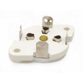 Soquete para Válvula 4 pinos - 4PIN#3 - 300B - GZC4-1