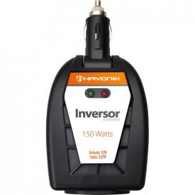Inversor de Onda Modificada 12VDC/127V USB 150W - HAYONIK