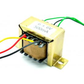 Transformador de Tensão 127/220V para 6V+6V 500mA