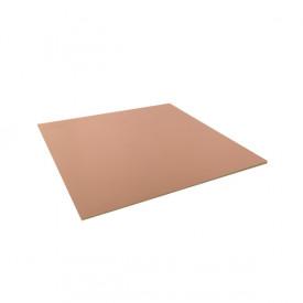 Placa de Fenolite Face Simples 15x15 cm