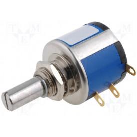 Potenciômetro de precisão 500R 10 Voltas 534-1-1-501 - Vishay/Spectrol