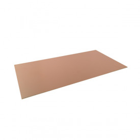 Placa de Fenolite Face Simples 10x20 cm