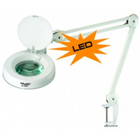 Lupa com Luminária LED SL-1530 LED 5x - 127V - Solden