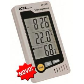 Termo Higrômetro HT-209 - ICEL