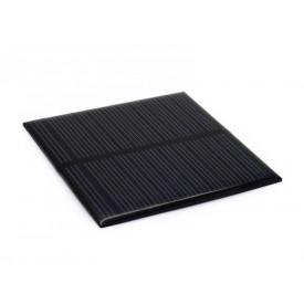 Mini placa solar 65x65mm  5,5v 0,6w -150mA - CNC65X65-5.5