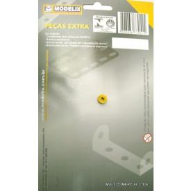 Polia de 6mm Embalagem com 2 Peças - Modelix