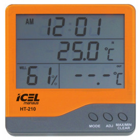 Termo Higrômetro HT-210 - ICEL