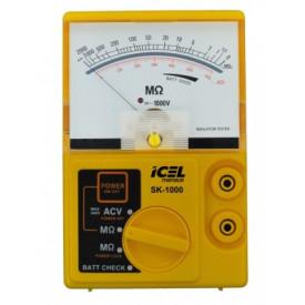 Megômetro Analógico SK-1000 - Icel