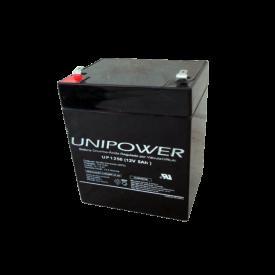 Bateria Chumbo-Ácida Regulada por Válvula (VRLA) UP1250 (12V 5Ah)