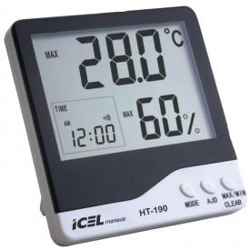 Termohigrômetro Digital - HT-190 - Icel