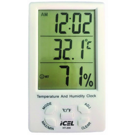 Termo-Higrômetro Digital HT-200 - Icel