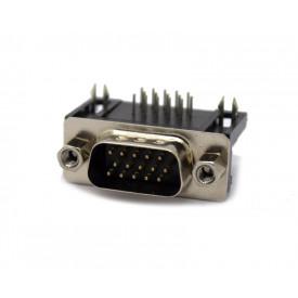 Conector DB15 Macho PCI 90° VGA