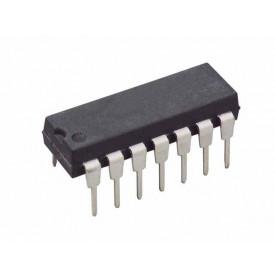 Circuito Integrado Porta Lógica HCF4016BEY DIP14 Chave Analógica Quad BilateraI  - Cód. Loja 17 - STMicroelectronics - CD4016