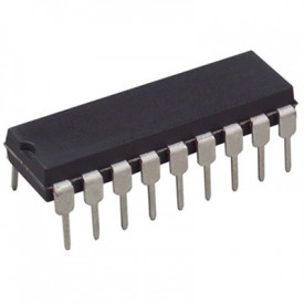 Microcontrolador PIC16F716-I/P DIP18 - Microchip - Cód. Loja 4827
