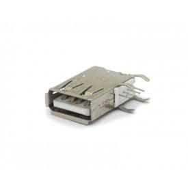 Conector USB-A Fêmea 90º PCI DS1095-01-WNR0 - Connfly