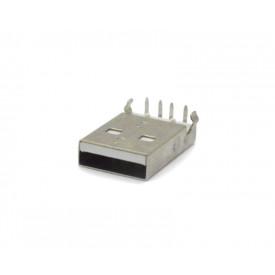Conector USB A Macho 90º PCI DS1097-WN0 - Connfly